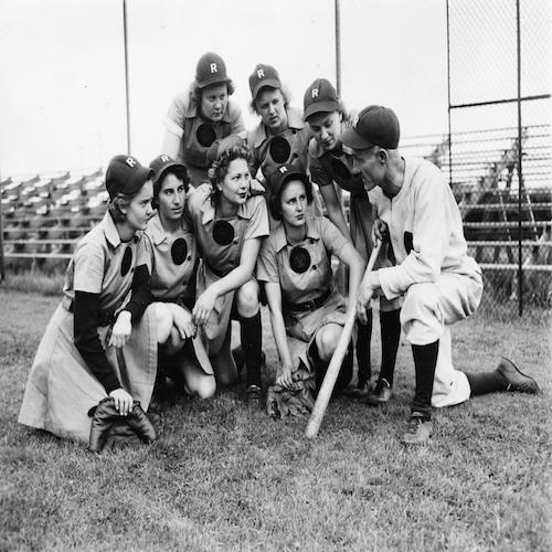 New York Yankees Celebrate AAGPBL 75th