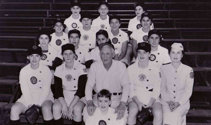 1954 Rockford Peaches
